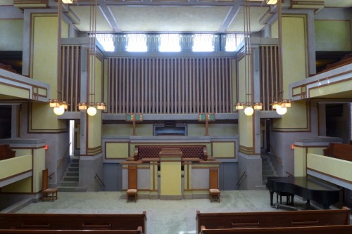 Wright's Unity Temple: A UNESCO World Heritage Site