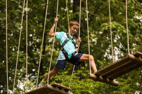 Go Ape Zipline Tree Top Adventure Course